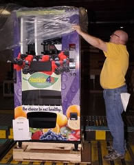 United Auto Workers Inspect Healthier4U Machines prior to Shipping