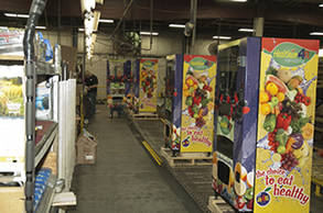 Healthier4U Healthy Vending Machines are Manufactured in the USA