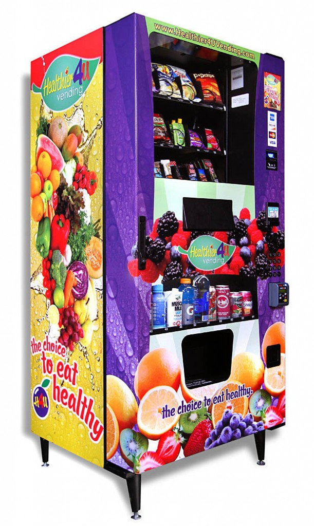 The H4U ADAII  InfraRed Healthy Vending Machine