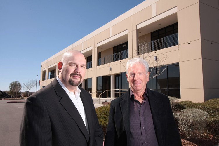 Brian and Del Swain Founding Partners of Healthier4U  Vending