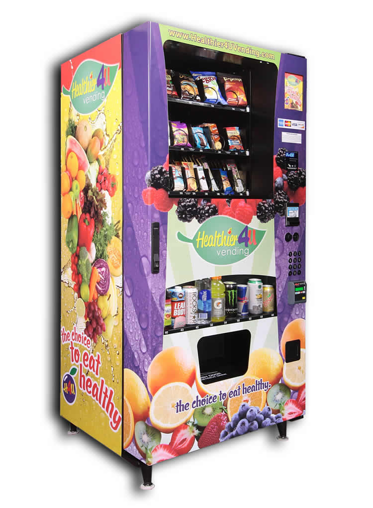 Healthier4U Healthy Vending Machine