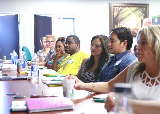 world class training session at healthier 4u headquarters in las vegas