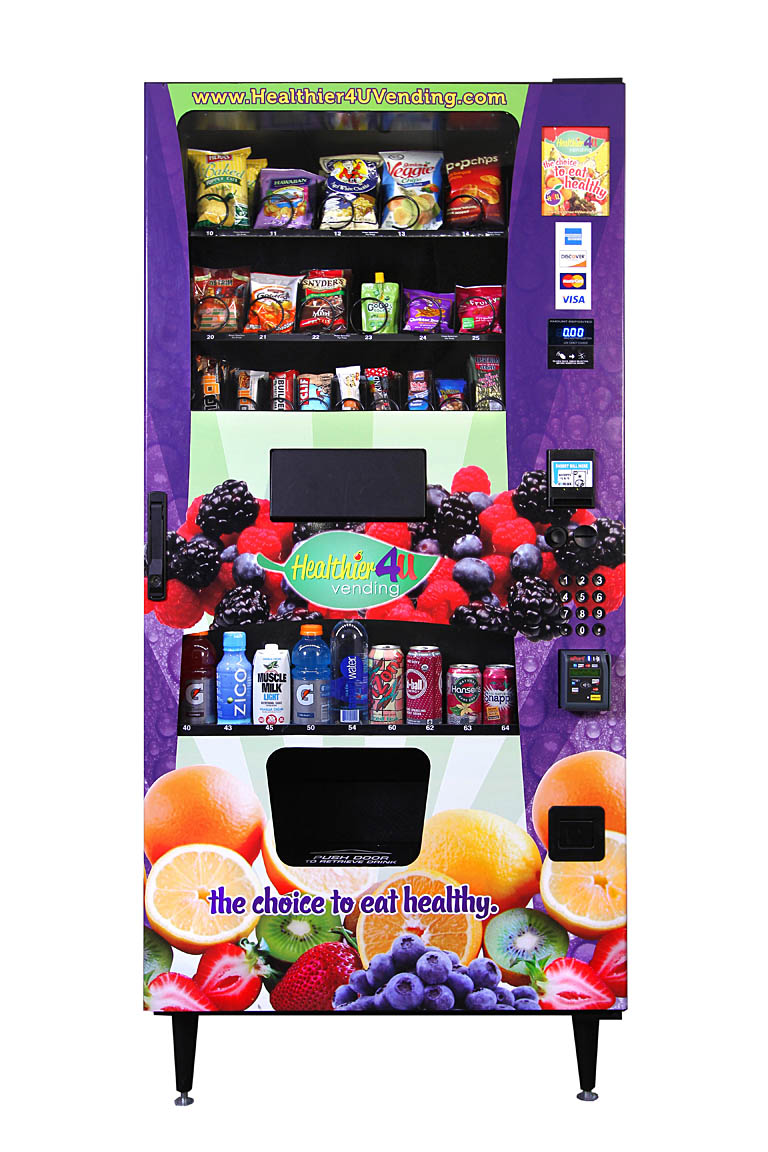 The Healthy Snack Revolution Is Here Healthier 4u Vending