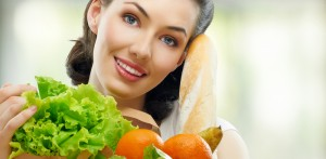 Healthy Women Making Healthy Food Choices