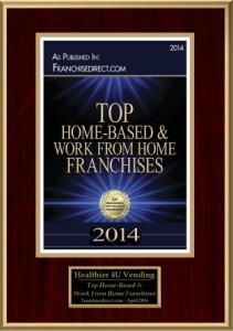 Franchise Direct 2014 Top Home Based Franchise Award