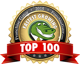 franchise gator top 100 fastest growing franchises logo