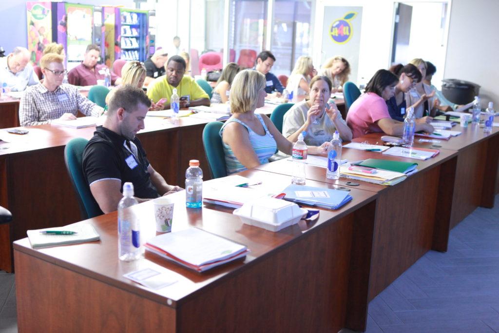 world class training at healthier 4u vending headquarters in las vegas
