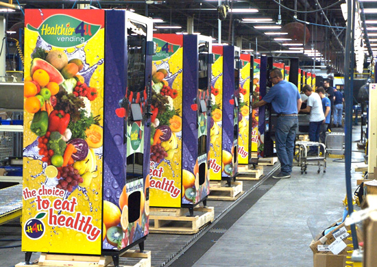 h4u vending machines the best built american made healthy vending machine